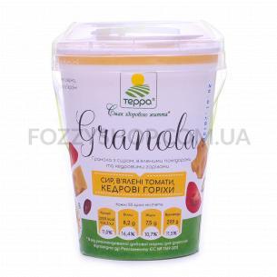 Гранола Терра сыр-вялен помидор-кедровые орехи