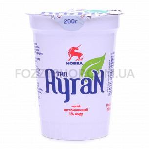 Напиток кисломолочный Новел Тан Айран 1% ст