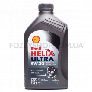 Масло моторное Shell Helix Ultra 5W-30