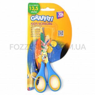 Ножницы детские Cool FOR school Graffiti 13,5см