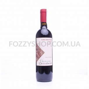 Вино Georgian Ornament Sachino Red п/сухое