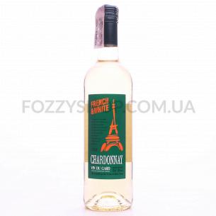 Вино French & White Chardonnay IGP Gard