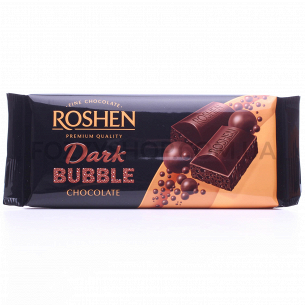 Шоколад экстрачерный Roshen пористый
