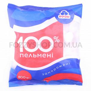Пельмени Рудь 100%