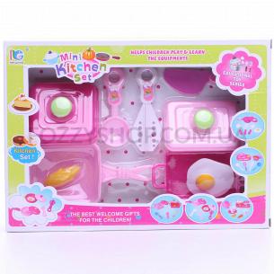 Набор игрушечный Кухня 9пр D1