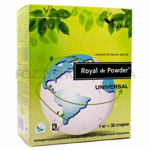 Порошок стиральный RoyalPowder аромат белых цветов бесфосфатный