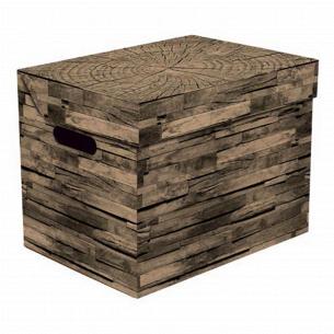 Ящик д/хранения Global-Pak Дерево карт 34х25х26см