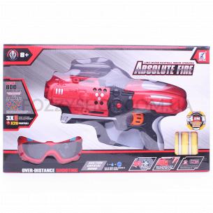 Н-р игрушка Бластер 3в1 со стрелами и очками D2