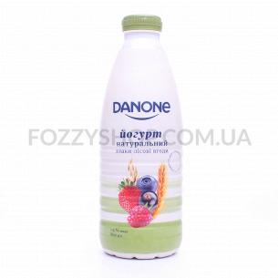 Йогурт Danone Злаки-лесные ягоды питьевой 1,5% пэт