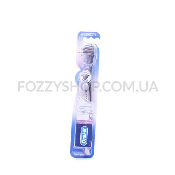 Щетка зубн Oral-B Серебро ультратонкая экст мягкая