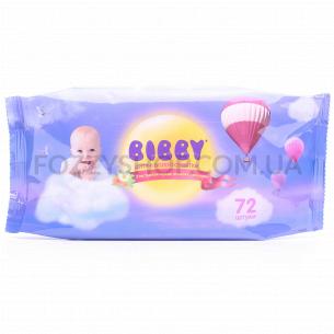 Салфетки влажные Bibby детские