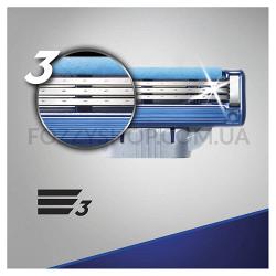 Сменные картриджи для бритья Gillette Mach 3 Turbo (8 шт)
