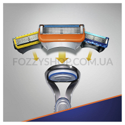Бритва Gillette Fusion5 с 1 сменным картриджем