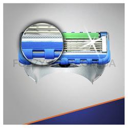 Сменные картриджи для бритья Gillette Fusion5 ProGlide Power (4 шт)