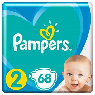 Подгузники Pampers New Baby Размер 2 (4-8 кг) 68 шт.