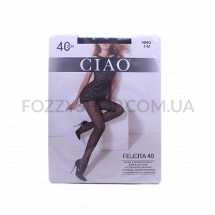 Колготки женские Ciao Felicita 40 nero р.3