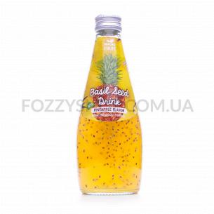 Напиток Magic Fruit вкус ананас с семенами базилик