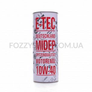 Масло моторное E-TEC ASM 10W-40 п/с