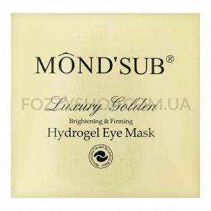 Патчи для глаз Mondsub Gold гидрогелевые