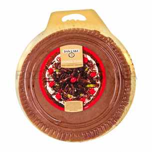 Корж для торта шоколадный Dan Cake