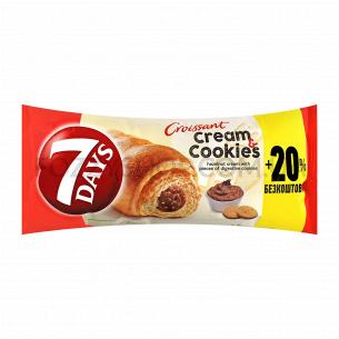 Круассан 7 Days Миди с орех кремом с кусоч печенья