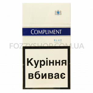 Сигареты Compliment Super Slim Blue