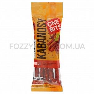 Кабаноси Дмитрук One Bite Chili свинные с чили в/к