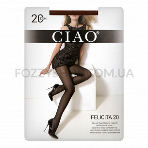 Колготки женские Ciao Felicita 20 daino р.3