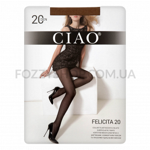 Колготки женские Ciao Felicita 20 miele р.2