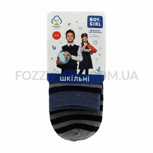 Носки для мальчика Boy&Girl 301 полоска р.23-25