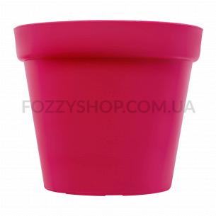 Горшок Patio Soft розовый пластик d15см