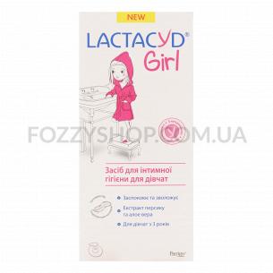 Средство для интимной гигиены Lactacyd для девочек