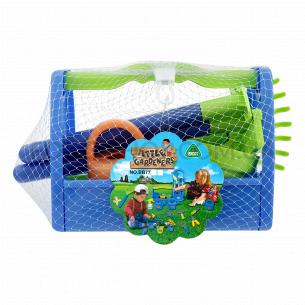 Набор игрушечный Садовые инструменты 13пр