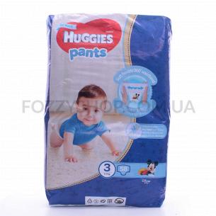 Подгузники-трусики д/мал Huggies Pants р.3 6-11кг