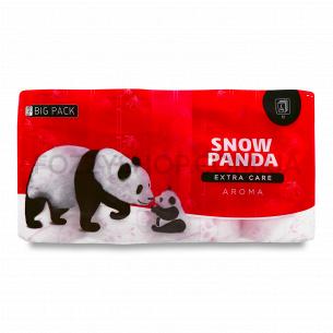 Бумага туалетная Сніжна панда Extra Care Aroma