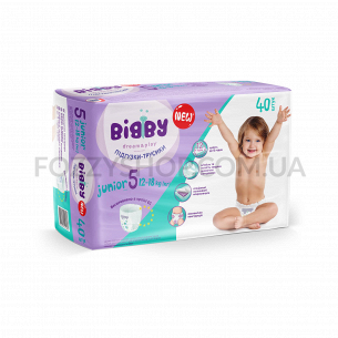 Подгузники-трусики Bibby Junior 12-18кг