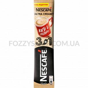 Напиток кофейн Nescafe Ultra Creamy микс 3в1 раств