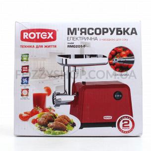Мясорубка Rotex RMG201-T