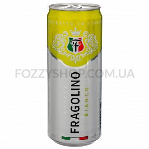 Напиток виный полуигристый Letizia Fragolino Bianco полусладкий ж/б