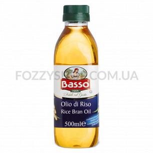 Масло Basso из рисовых отрубей