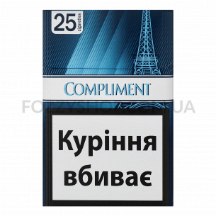 Сигареты Compliment Blue Demi Slims 25