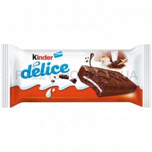 Бисквит Kinder Делиз в шоколаде