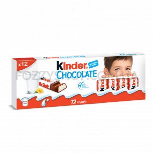 Шоколад молочный Kinder Chocolate Новогодний