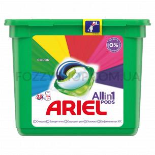 Капсулы для стирки Ariel Pods Все-в-1 Color, 23 шт.