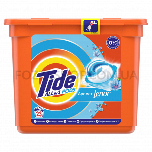 Капсулы для стирки Tide Lenor Touch of Scent 23 шт