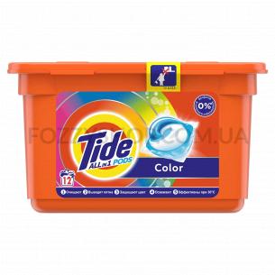 Капсулы для стирки Tide Все-В-1 Color, 12 шт.