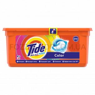 Капсулы для стирки Tide Все-В-1 Color, 30 шт.