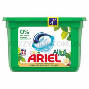 Капсулы для стирки Ariel PODS All in 1 Масло Ши 15 шт