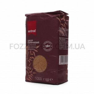 Сахар Extra! тростниковый коричневый Демерар нерафинированный