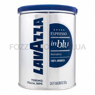 Кофе молотый Lavazza In Blu в ж/б